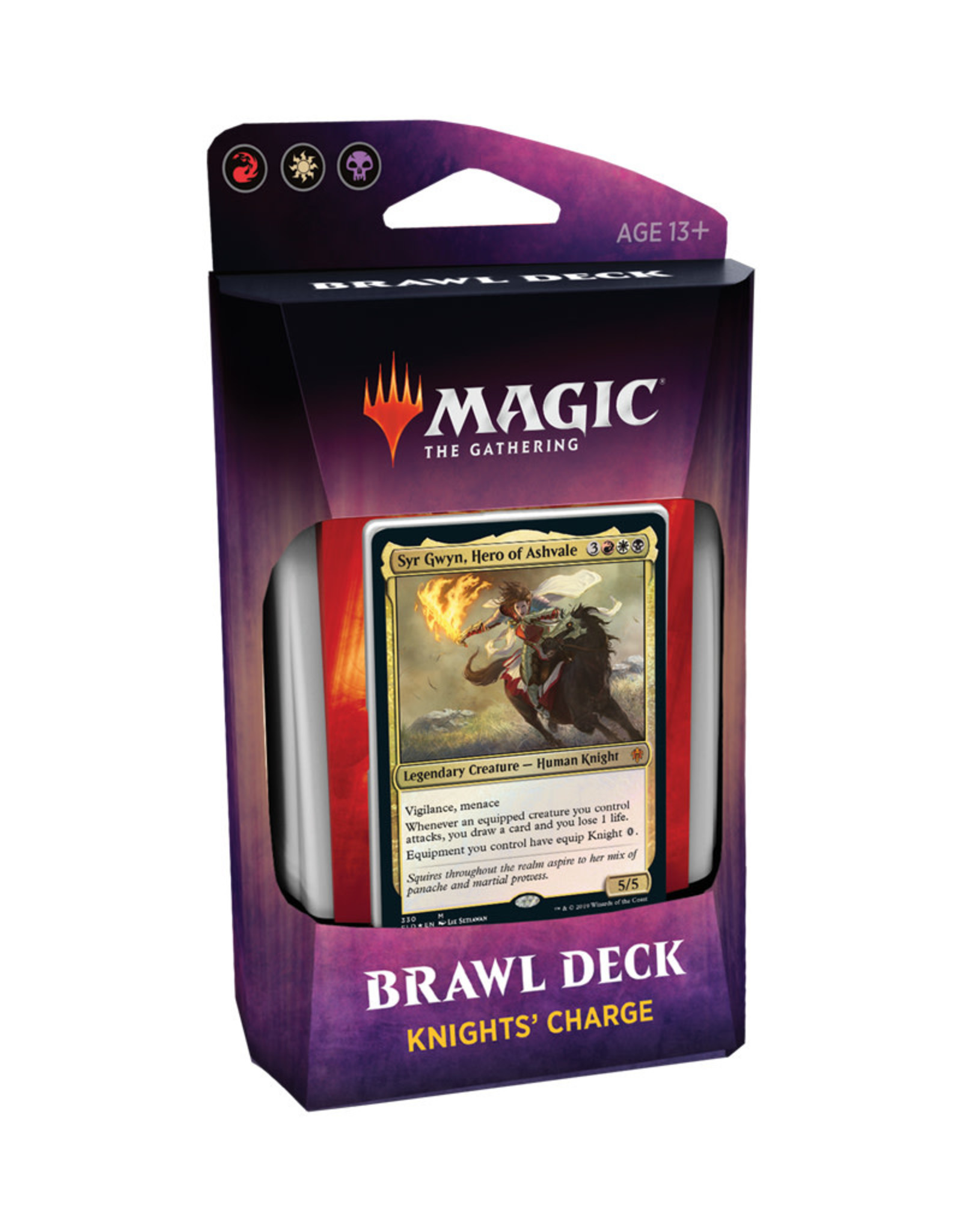 Wizards of the Coast MTG Throne of Eldraine Brawl Deck (Knights' Charge)