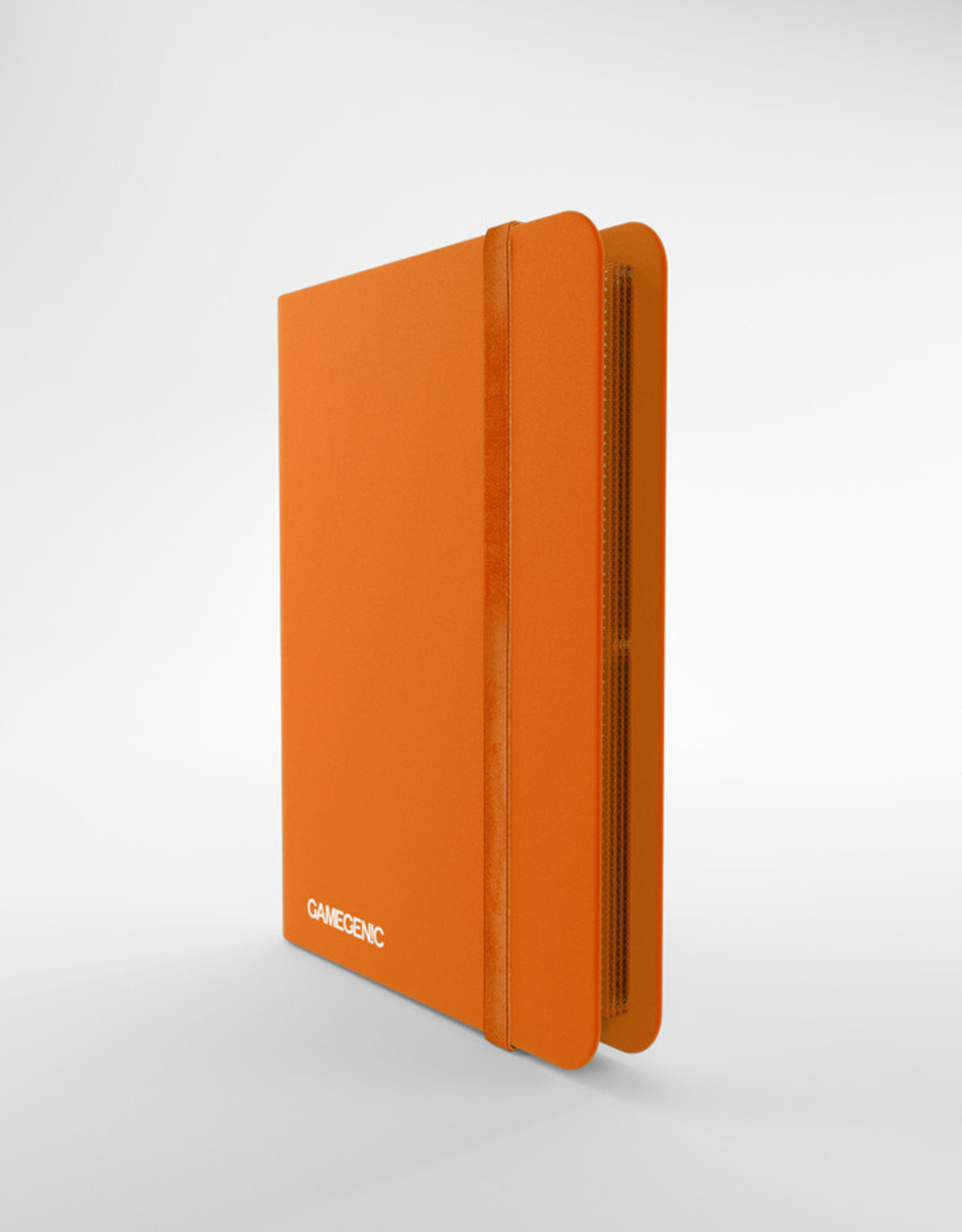 Casual Album: 8-Pocket Side-Loading Orange