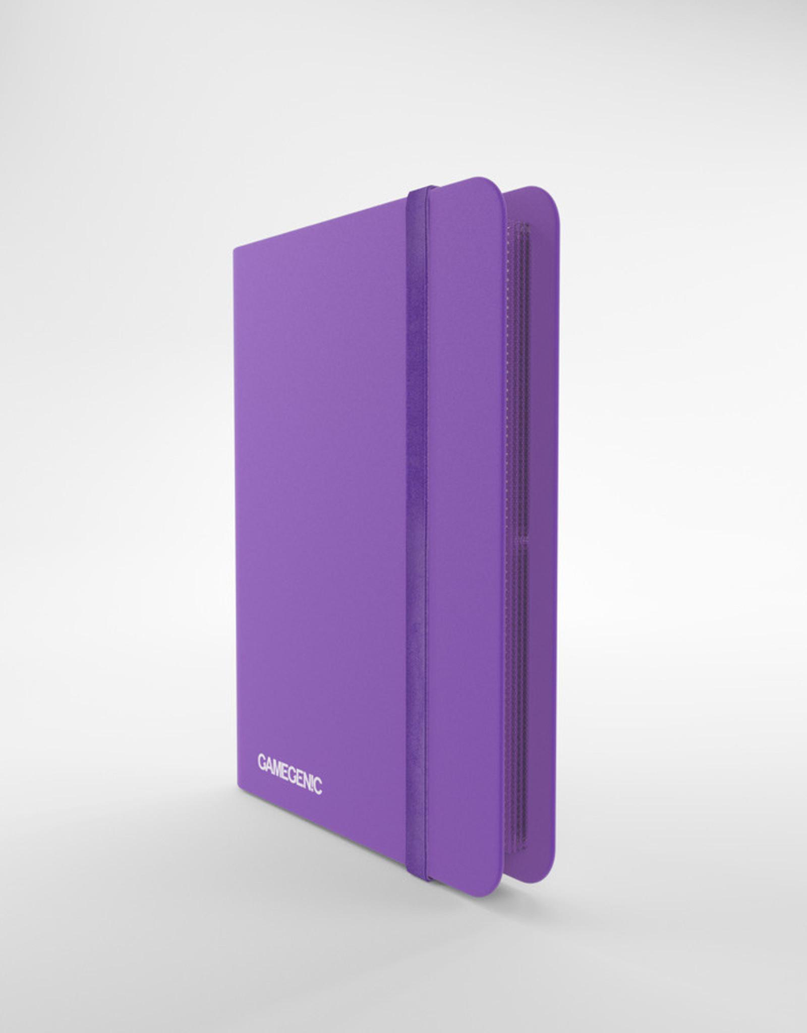 Casual Album: 8-Pocket Side-Loading Purple