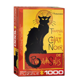 Eurographics Black Cat Puzzle 1000 PCS (Steinlen)