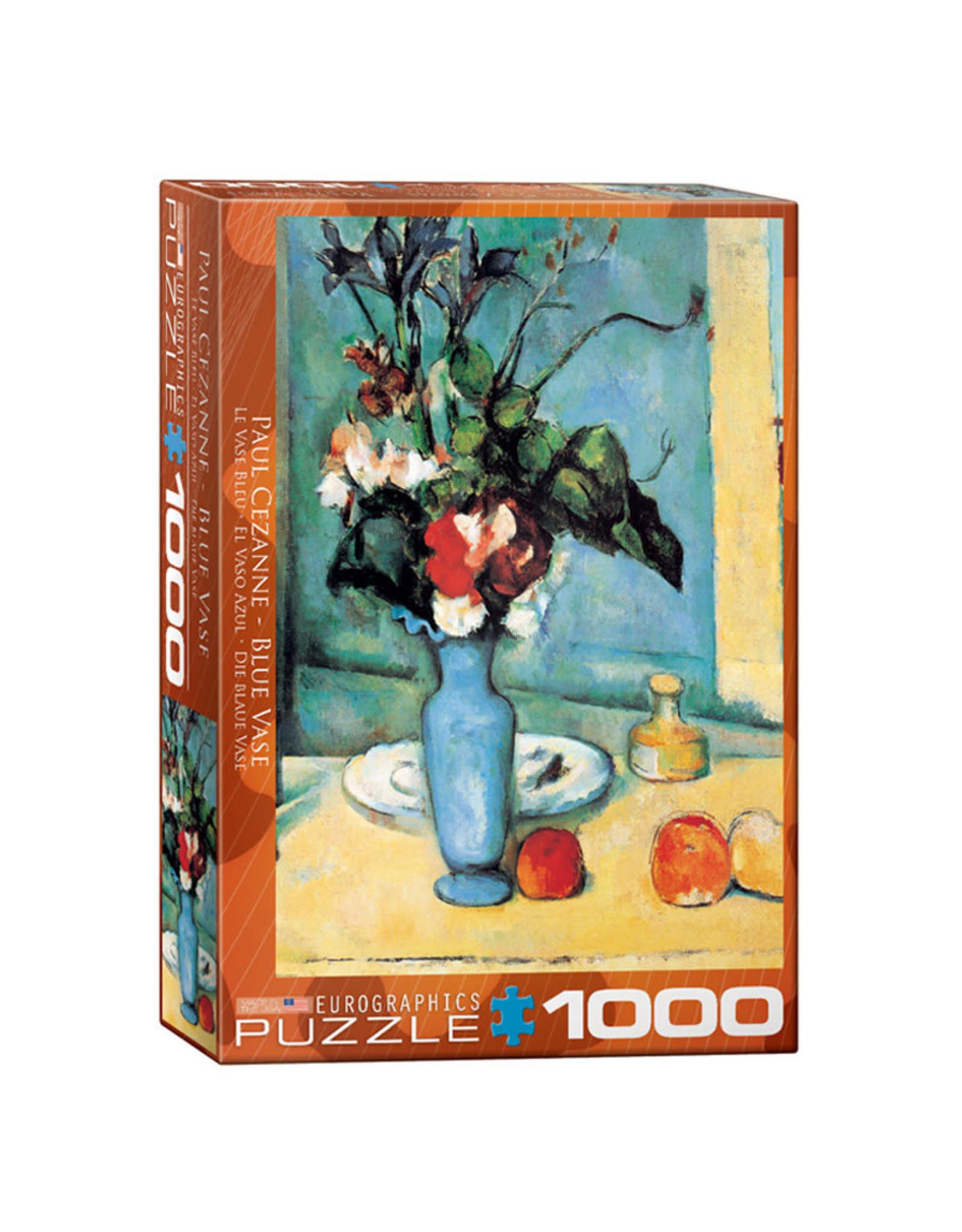 Eurographics Blue Vase Puzzle 1000 PCS (Cezanne)