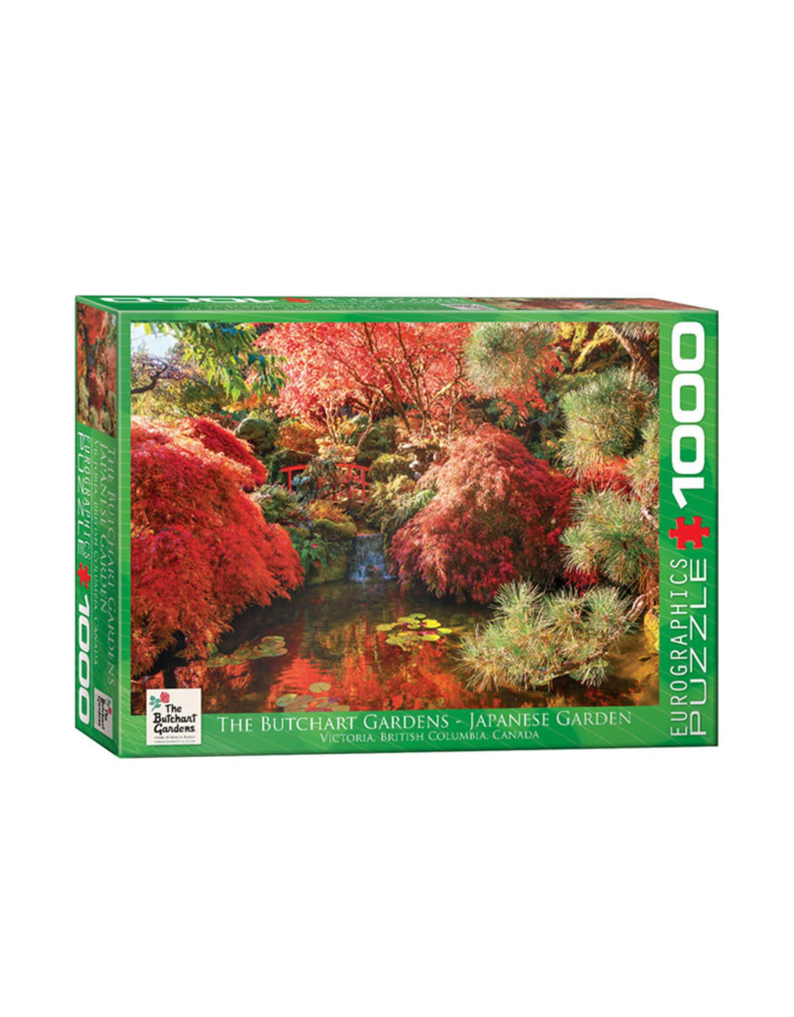 Eurographics Butchart Gardens Japanese Gardens Puzzle 1000 PCS
