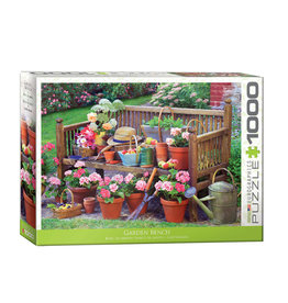 Eurographics Garden Bench Puzzle 1000 PCS
