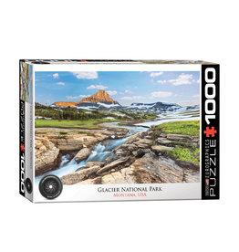 Eurographics Glacier National Park Puzzle 1000 PCS