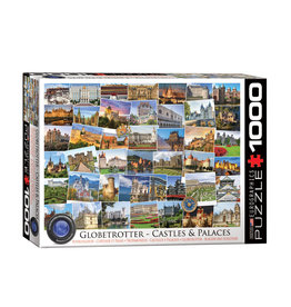 Eurographics Castles and Palaces Globetrotter Puzzle 1000 PCS