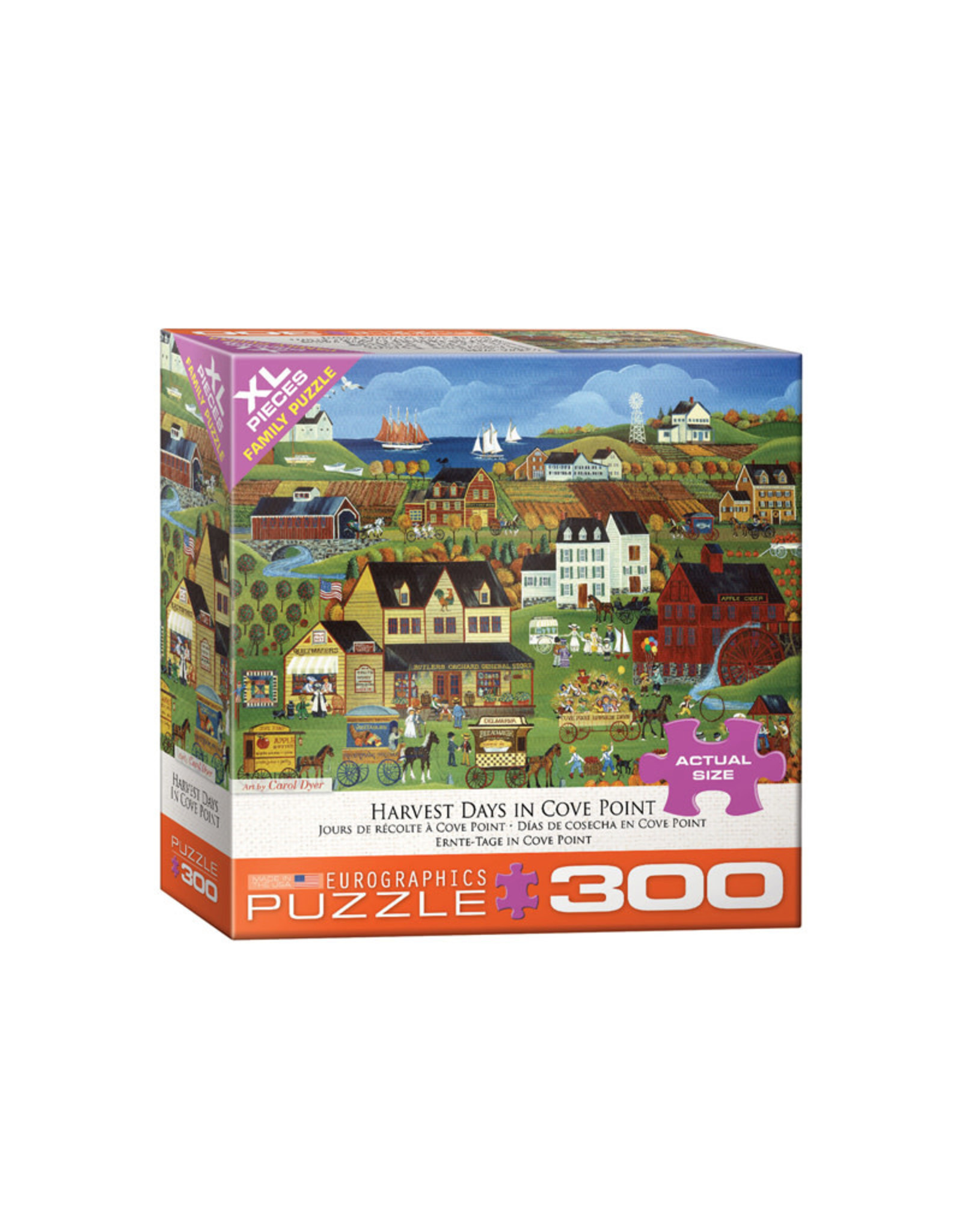 Eurographics Harvest Days Puzzle 300 XL PCS (Dyer)