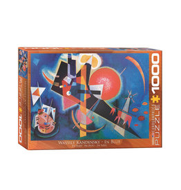 Eurographics In Blue Puzzle 1000 PCS (Kandinsky)