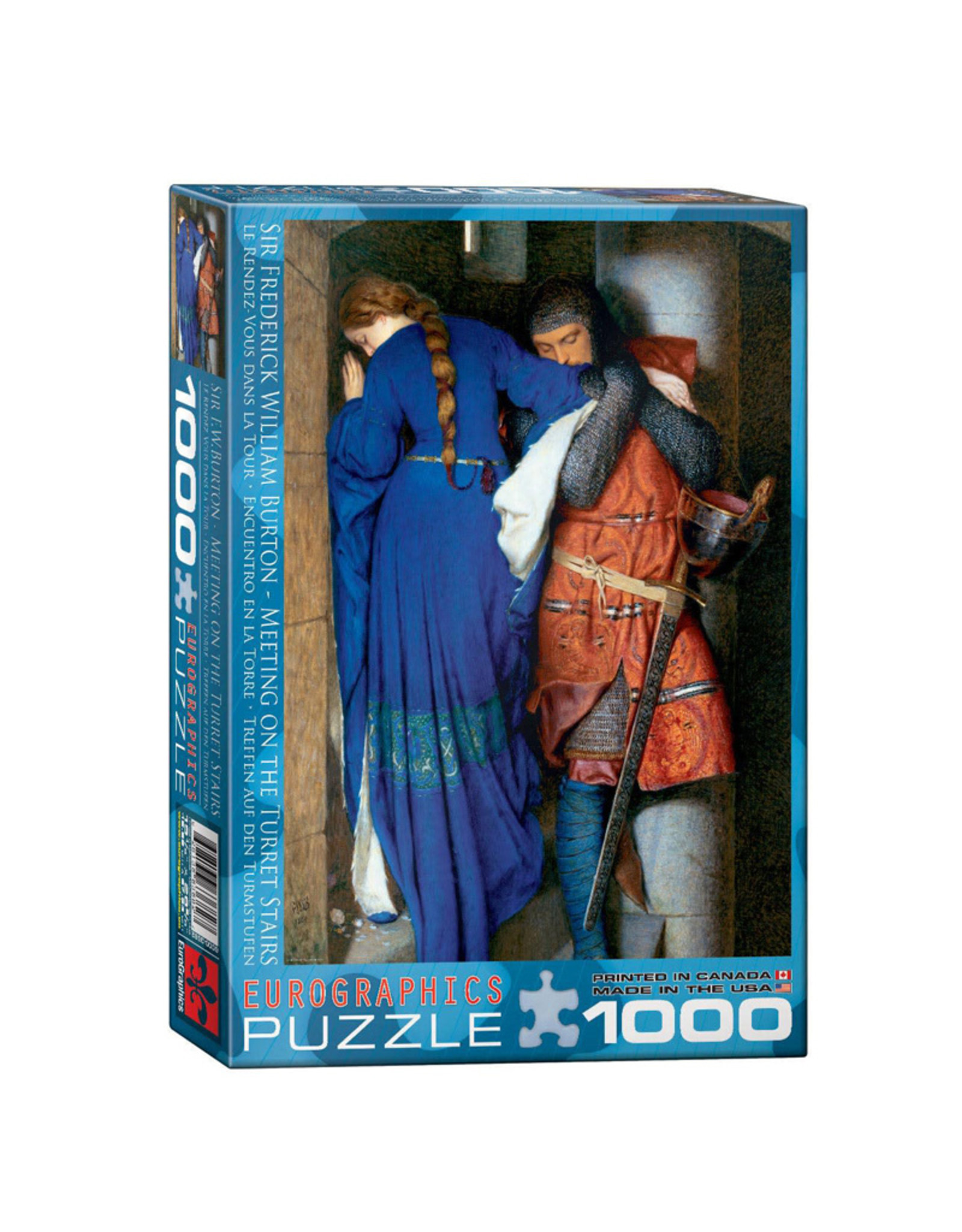 Eurographics Meeting on the Turret Stairs Puzzle 1000 PCS (Burton)