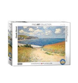 Eurographics Path Through the Wheat Fields Puzzle 1000 PCS (Monet)