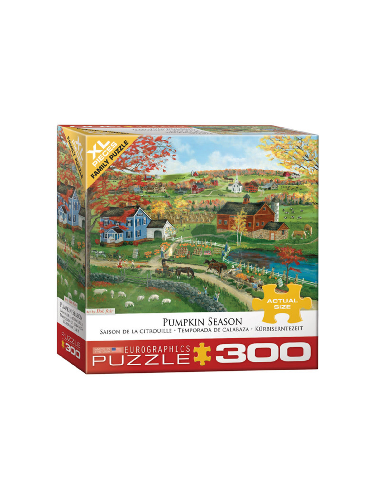 Eurographics Pumpkin Season Puzzle 300 XL PCS (Fair)
