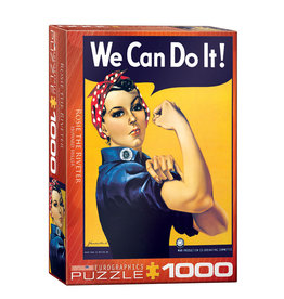 Eurographics Rosie the Riveter Puzzle 1000 PCS (Miller)