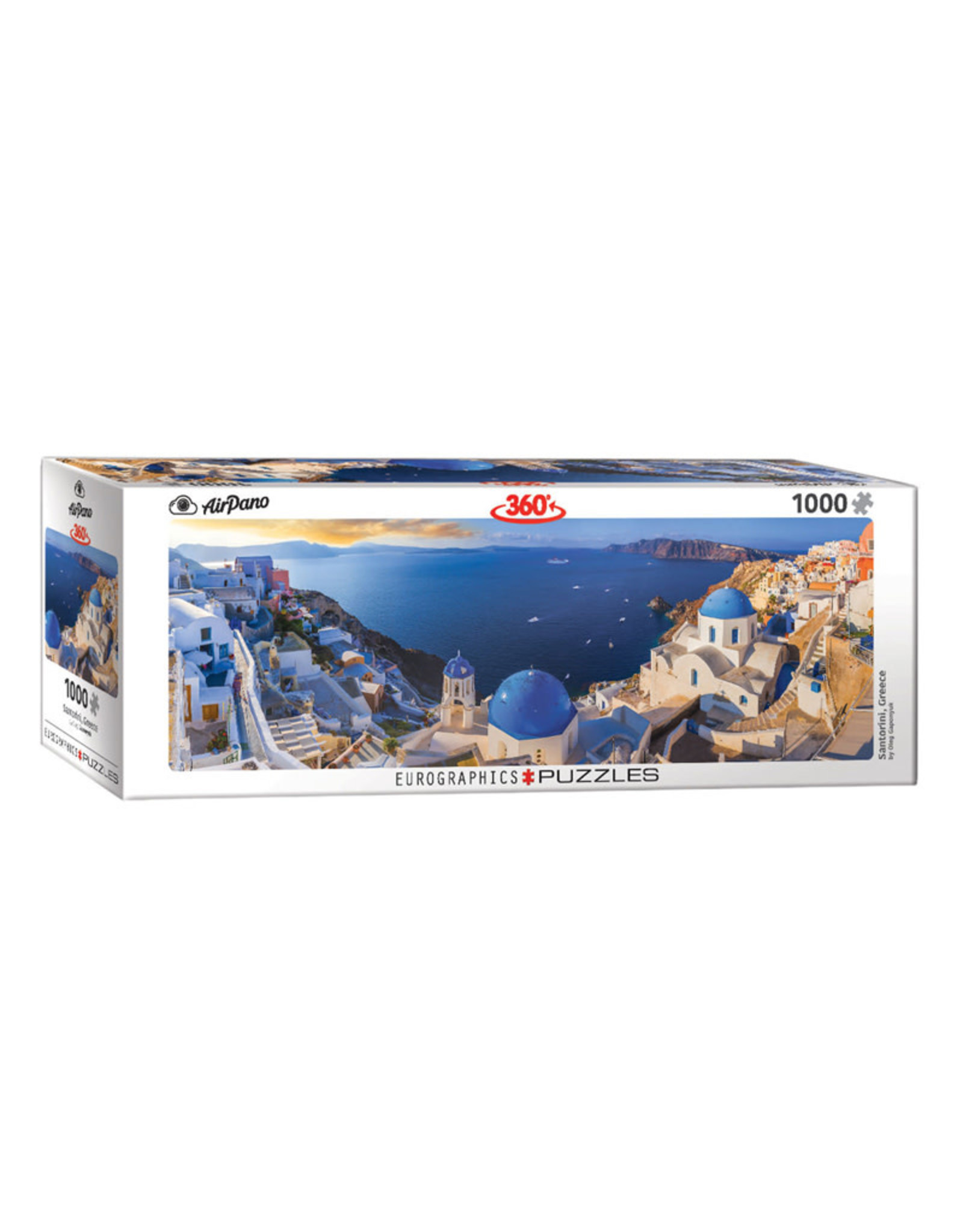 Eurographics Santorini Greece Puzzle 1000 PCS Panoramic