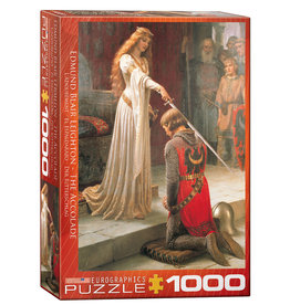 Eurographics The Accolade Puzzle 1000 PCS (Leighton)