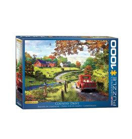 Eurographics The Country Drive Puzzle 1000 PCS (Davison)