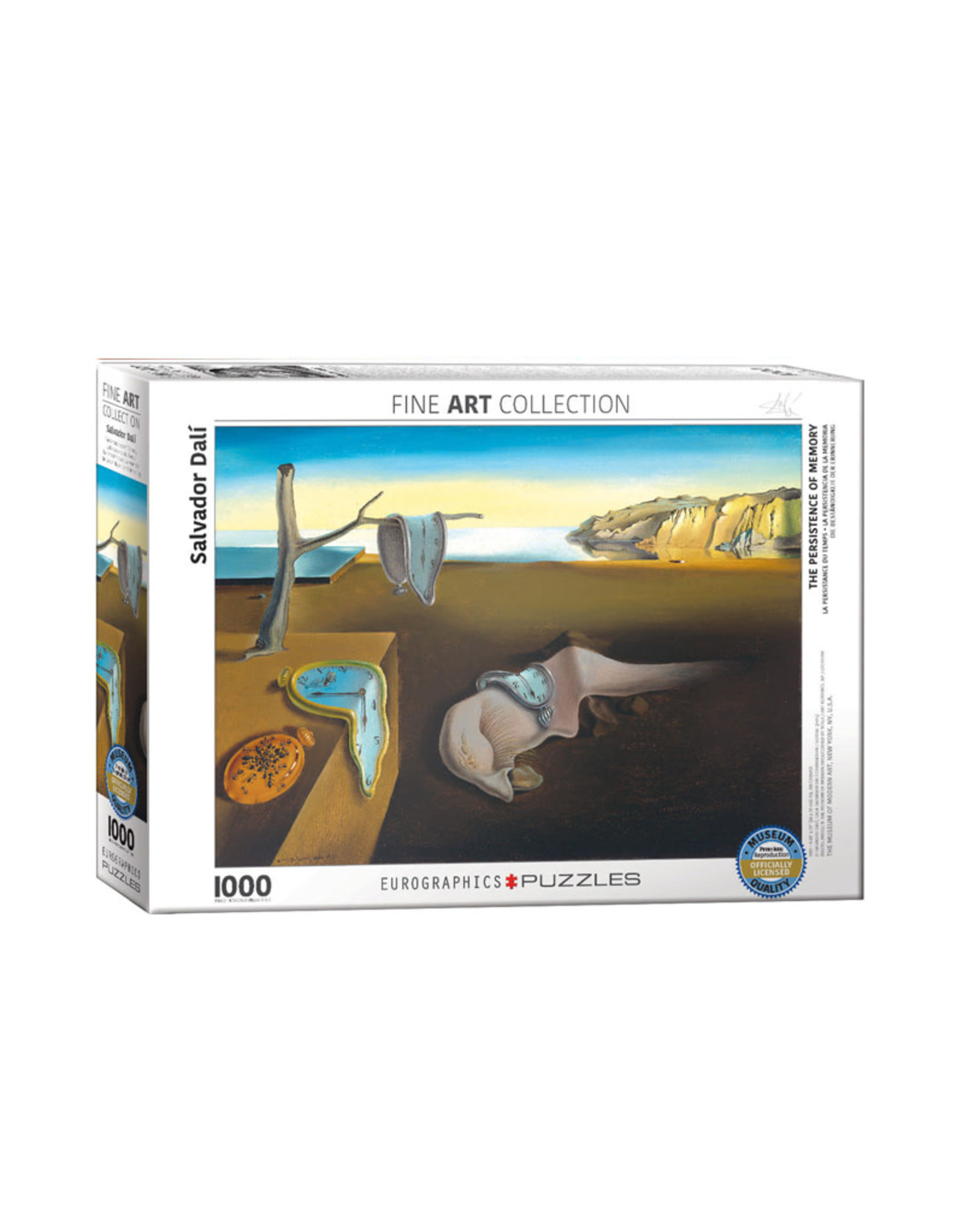Eurographics The Persistence of Memory Puzzle 1000 PCS (Dali)
