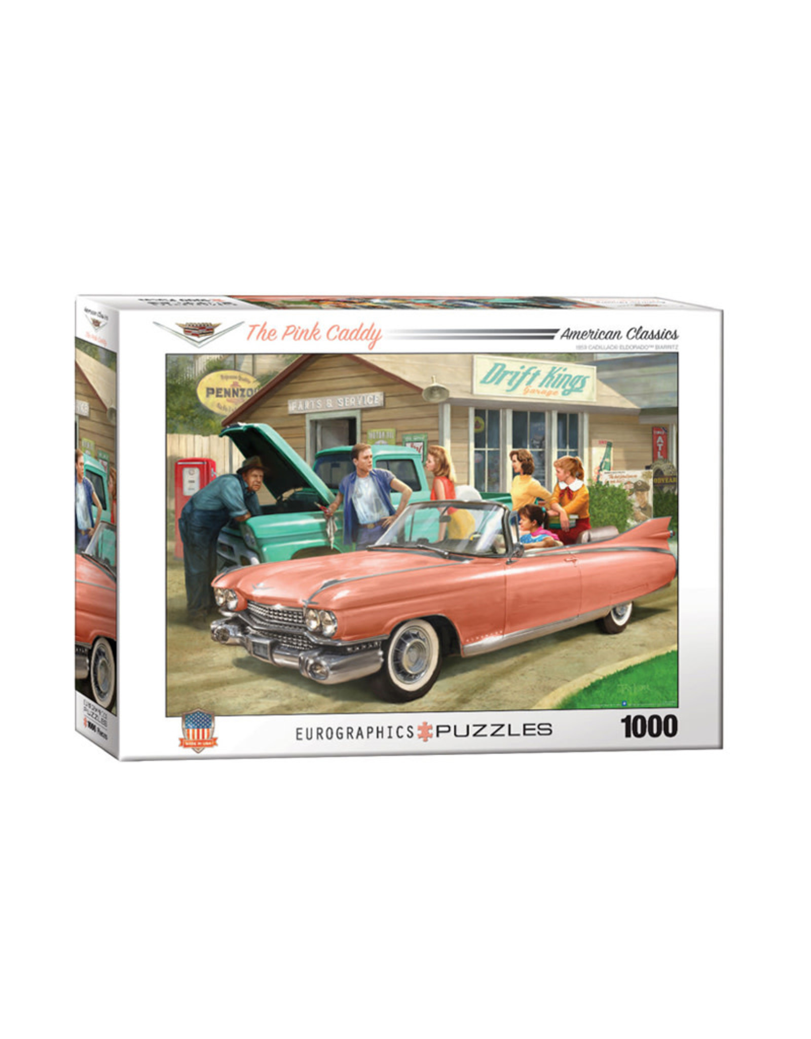 Eurographics The Pink Caddy Puzzle 1000 PCS