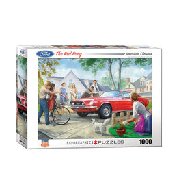 Eurographics The Red Pony Puzzle 1000 PCS