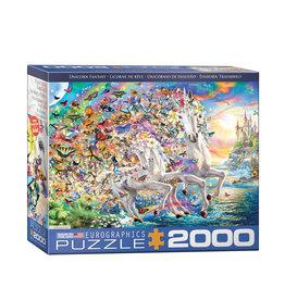 Eurographics Unicorn Fantasy Puzzle 2000 PCS