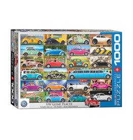 Eurographics VW Gone Places Puzzle 1000 PCS