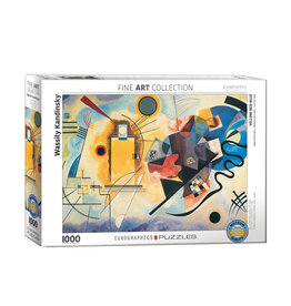 Eurographics Yellow Red Blue Puzzle 1000 PCS (Kandinsky)