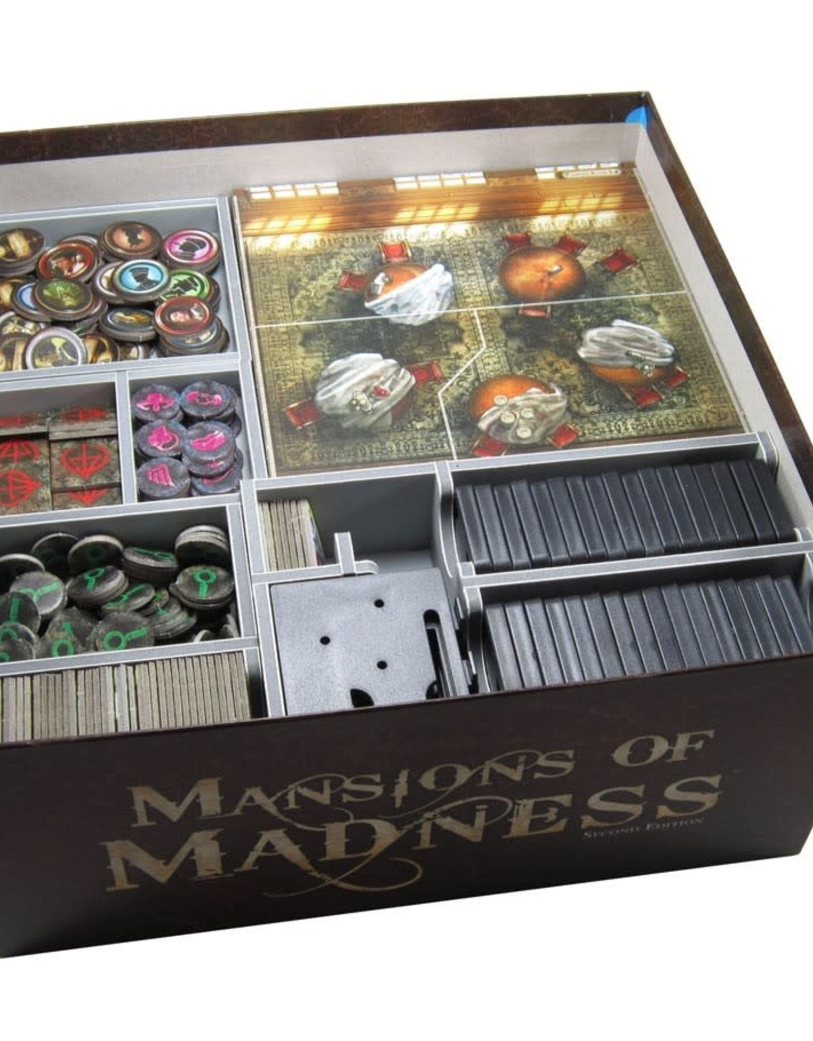 Folded Space Box Insert: Mansions of Madness
