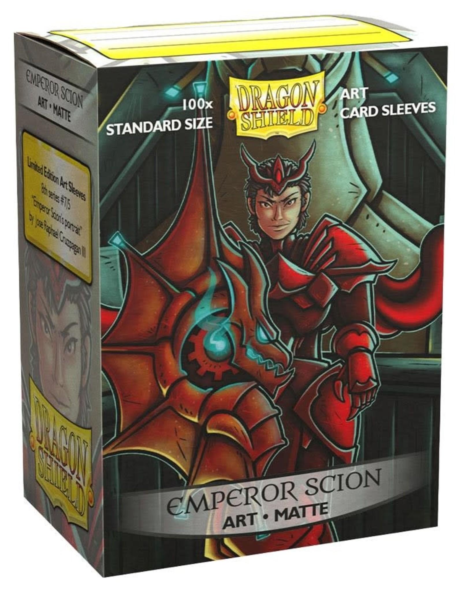 Arcane Tinmen Sleeves: Dragon Shield Art Matte (100) Emperor Scion