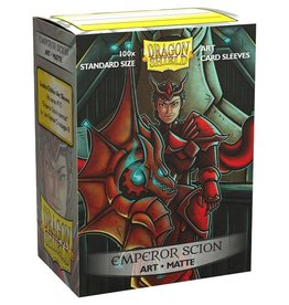 Arcane Tinmen Deck Protectors: Dragon Shield Art Matte (100) Emperor Scion