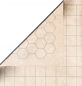 "Chessex Double-Sided Battlemat  (26x23.5) 1.5"" Squares/Hexes"