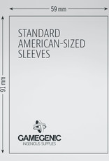 Matte Board Game Sleeves: Standard American (50) (Green)