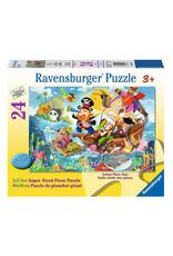Ravensburger Land Ahoy! Floor Puzzle 24 PCS