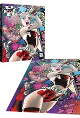 USAopoly Harley Quinn Die Laughing 1000 PCS Puzzle