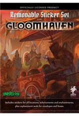 Cephalofair Games Gloomhaven Base Game Removable Sticker Set