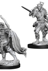 Wizkids D&D Unpainted Minis: Elf Rogue Male