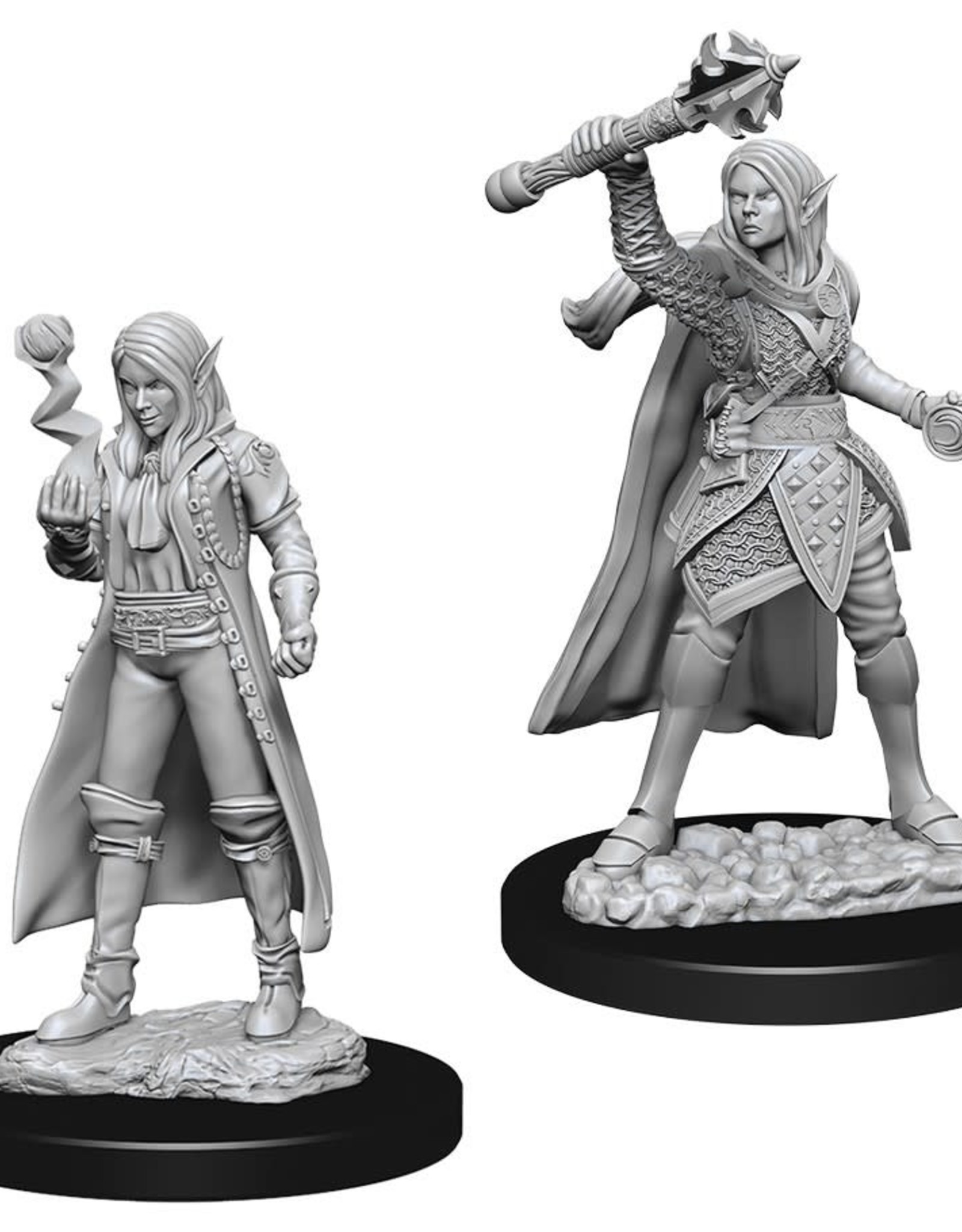 Wizkids D&D Unpainted Minis: Elf Cleric Female