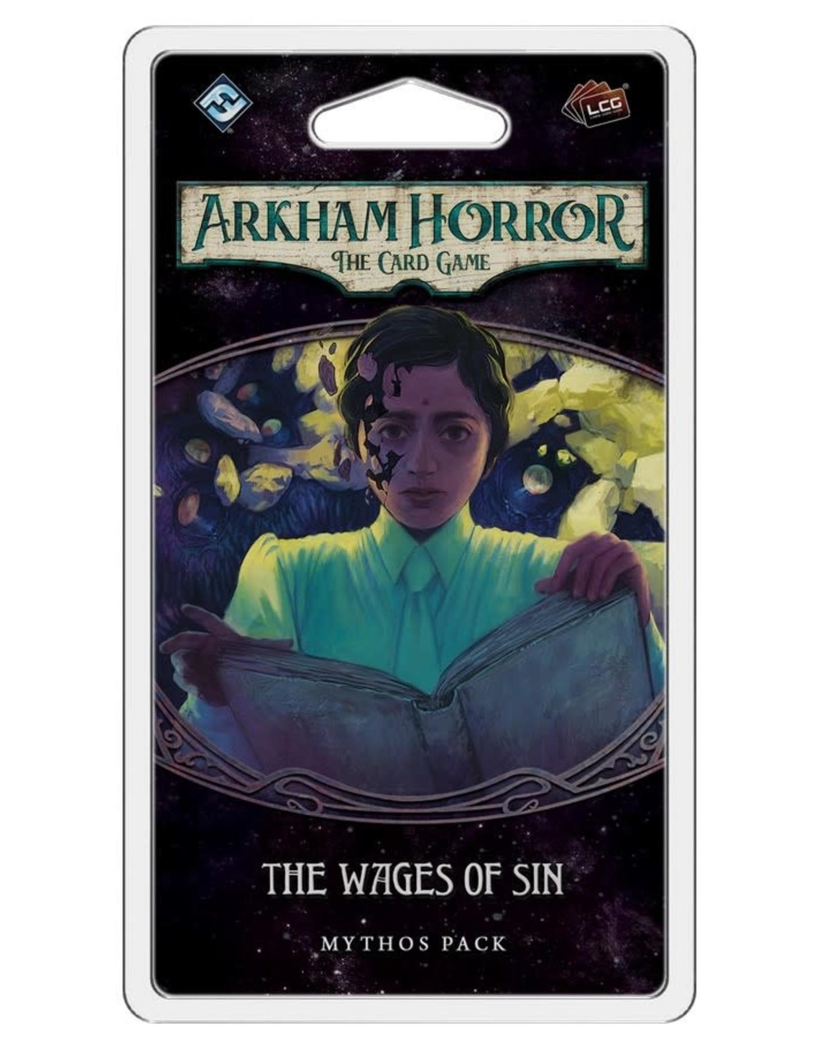 Fantasy Flight Games Arkham Horror LCG Wages of Sin