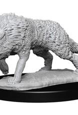 Wizkids Deep Cuts Unpainted Minis: Timber Wolves