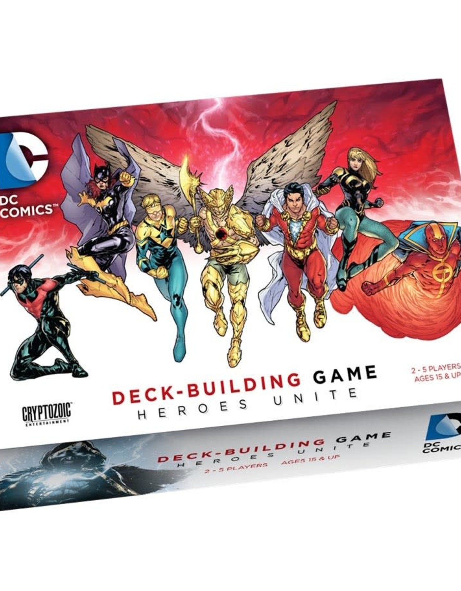 Cryptozoic DC Comics DBG Heroes Unite (stand alone or expansion)