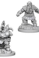 Wizkids D&D Unpainted Minis: Dwarf Barbarian Male