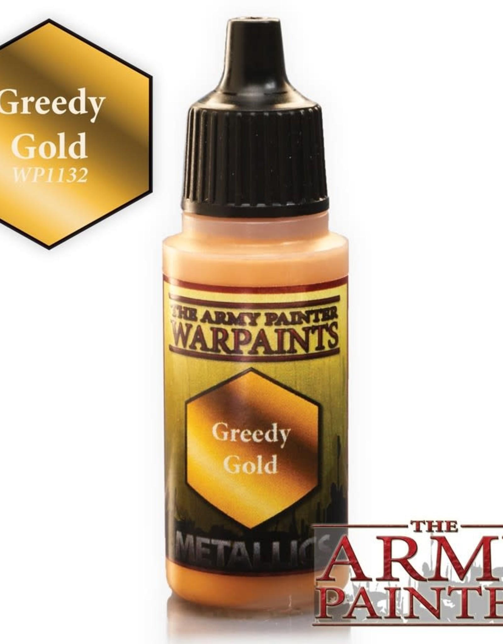 Warpaints: Metallic Greedy Gold 18ml