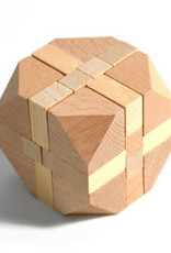 Wooden Cube Style Puzzle
