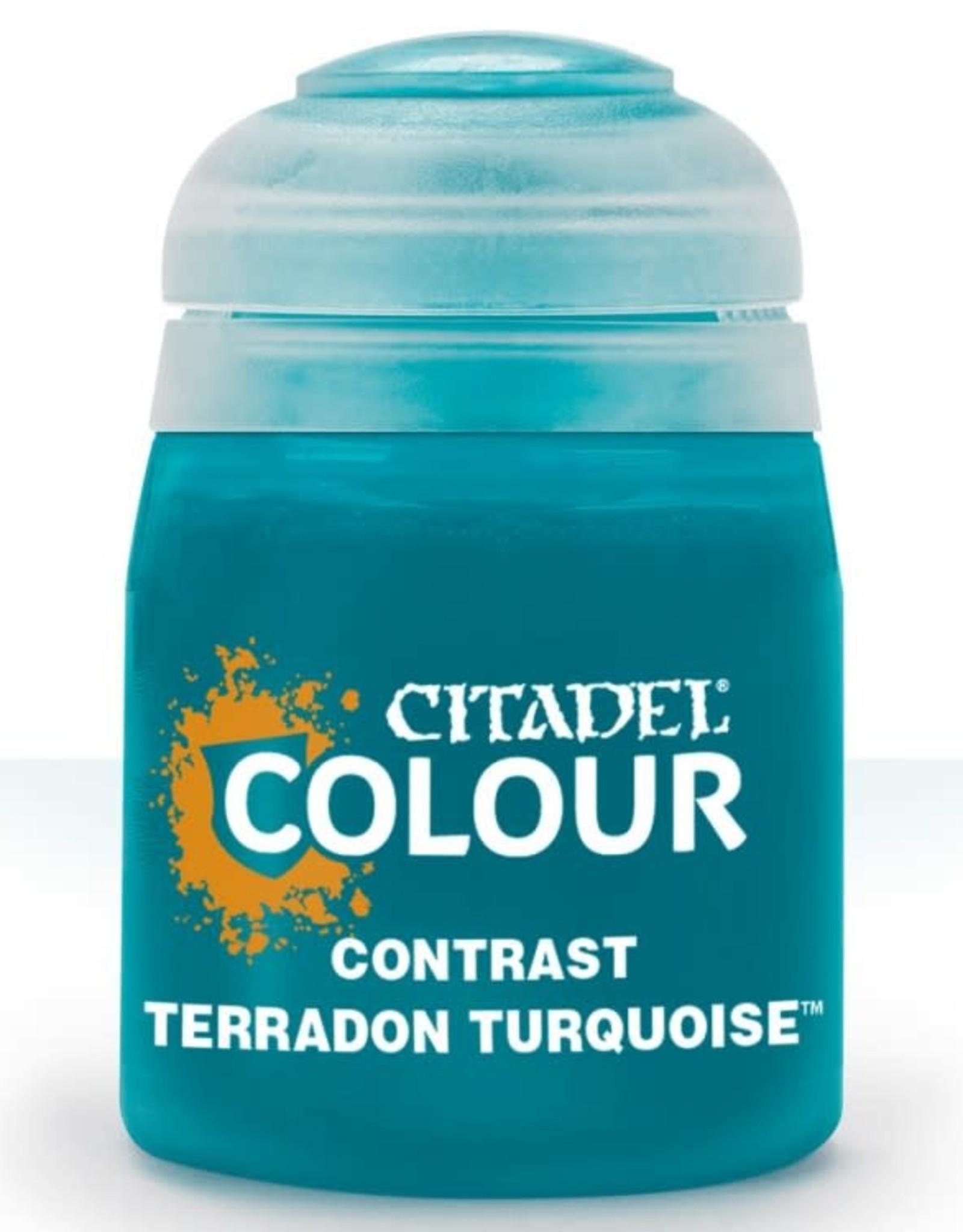 Citadel Contrast Paint: Terradon Turquoise