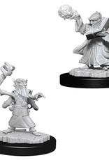 Wizkids D&D Unpainted Minis: Gnome Wizard Male