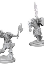 Wizkids D&D Unpainted Minis: Dragonborn Fighter Female