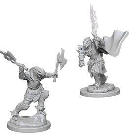 Wizkids D&D Unpainted Minis: Dragonborn Fighter Female