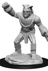 Wizkids D&D Unpainted Minis: Stone Golem