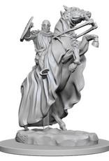 Wizkids Pathfinder Deep Cuts Unpainted Miniatures: Knight on Horse