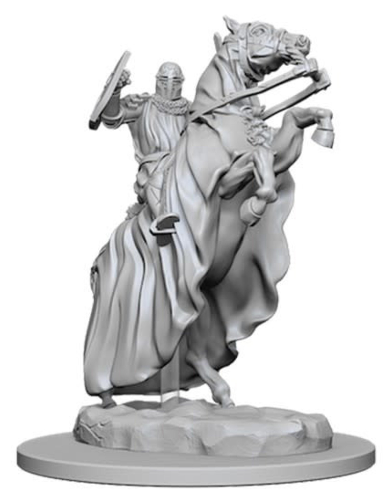 Wizkids Pathfinder Unpainted Minis: Knight on Horse