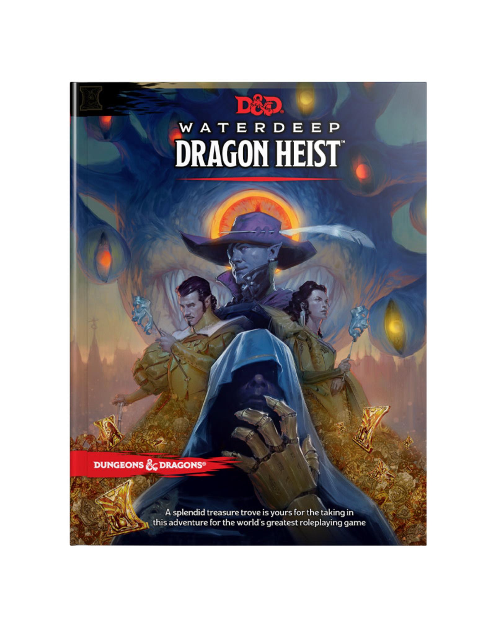 Wizards of the Coast D&D Waterdeep: Dragon Heist (Adventure)