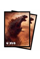 ULP MTG Ikoria (100 CT) Deck Protector v2 (Godzilla Doom) (Pre-Order)