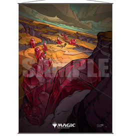 ULP MTG Ikoria Wall Scroll v5 (Savai Triome)